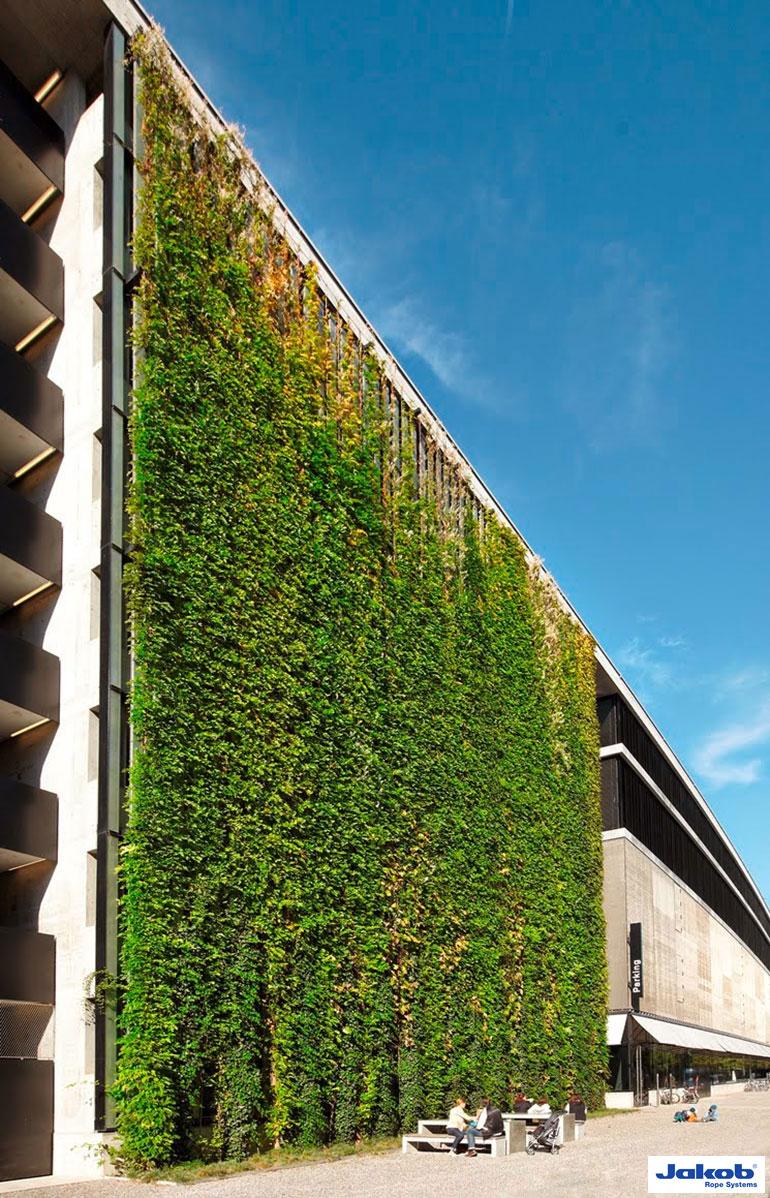 Groene gevel, Groene muur, Groene wand